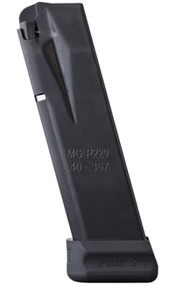 This is a Sig Sauer magazine for the p229 40 S&W, 14 round capacity, made by MEC-GAR.