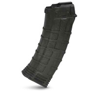 This is a AK-74 magazine 5.45x39mm, 30 round capacity, made by Tapco.