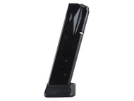 This is a 15 round magazine for the Sig Sauer 226 40sw, made by Mec-Gar.