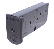 This is a 7 round magazine for the Ruger LC380 with flat bottom.