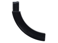 This is an extended 30 round factory magazine for the Remington 597 .22 lr, in black polymer.