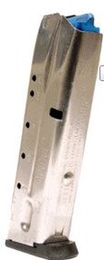 This is a 11 round factory Smith & Wesson magazine for the 4006 40S&W. Fits models: 410, 411, 4003, 4004, 4006, 4026, 4043, 4044, 4046.