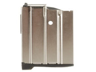 This is a 10 round nickel magazine for the Ruger Mini-14 .223, made by Pro Mag.