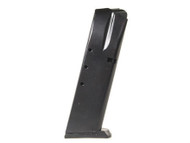 This is a 15 round magazine for any Smith & Wesson 5900 series firearm, made by Pro Mag. It fits models 59, 459, 659, 910, 915, 5903, 5904, 5906, 5923, 5924, 5926, 5943, 5944, and 5946.