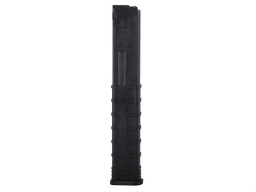 This is a 32 round magazine for the MasterPiece Arms 9mm, made by Tapco.