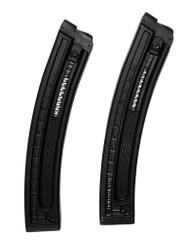 This is a pair of 10 round factory magazines for the GSG-5 (rifle) .22 lr.