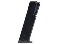 This is a factory CZ magazine for the TS (Tactical Sports) 40sw. This magazine has a maximum capacity of 17 rounds.