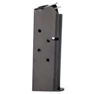 This is a 1911 magazine .45 acp officers (compact) blued magazine, 7 round capacity, made by Springfield.