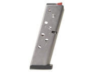 This is a factory Smith & Wesson magazine for the 908 3913 9mm pistol, 8 round capacity.