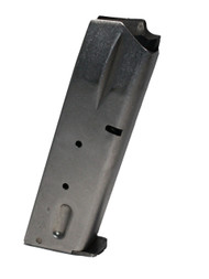 This is a factory Smith & Wesson magazine for the 59 series 9mm pistol, 14 round capacity, stainless steel.