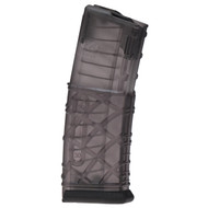 "This is a 30 round translucent polymer AR-15 magazine .223 / 5.56 with a no-tilt follower, called the ""E4"" (these are the updated Gen 5 magazines) manufactured by MSAR."
