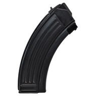 This is a steel AK-47 magazine 7.62x39mm, 30 round capacity, made in Croatia.