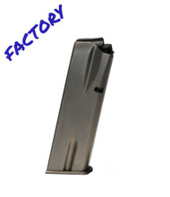This is a factory Browning magazine for the Hi-Power 41 AE (Action Express), with a maximum capacity of 11 rounds and a matte nickel finish.