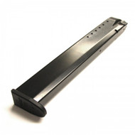 This is a Smith & Wesson magazine for the M&P 40 s&w, 25 round capacity, made by ProMag.