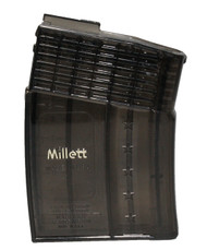 This is a Remington magazine for the 7600 / 740 chambered in .308 / .243, 10 round capacity, made by Millett.