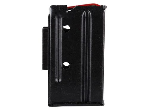 This is a 7 round magazine for a Marlin bolt action rifle chambered in 22 WMR or 17 HMR.