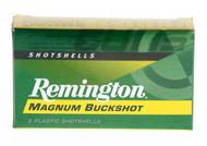 "MAGNUM BUCKSHOT 12 GAUGE 3"" 00 BUCKSHOT REMINGTON AMMO"