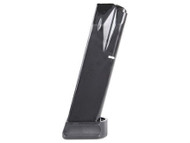 This is an extended 20 round Beretta magazine for the model 92 9mm, made by Mec-Gar.