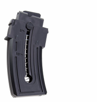 This is a factory Mossberg magazine for the Blaze (also fits Blaze-47) .22 lr, 10 round capacity.