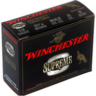 """Winchester Supreme High Velocity Turkey Loads 12 gauge, 3-1/2"""" shell loaded with #6 shot (2 oz.), 10 rounds per box, manufactured by Olin under the Winchester trademark."""