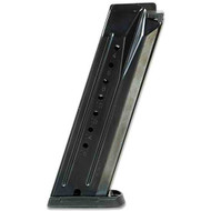 This is a factory Ruger magazine for the SR9 9mm, 17 round capacity, USED.