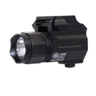 COMPACT UNIVERSAL GUN FLASHLIGHT- aluminum, 150 lumens, 4 color options
