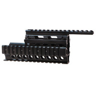 This AK-47 Quad Rail for most Ak-47's. Made by Target Sports, contructed from high grade aluminum.