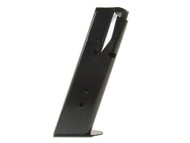 This is a CZ magazine for the 75 40 s&w, 12 round capacity, made by Mec-Gar.