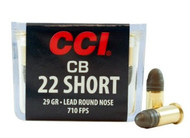 Cci 22 short 27 grain copper plated hollow point 100 for Short sale leads