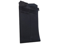 This is a Saiga magazine for the 12 gauge shotgun, 5 round capacity made by Izmash.