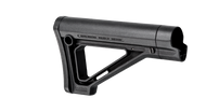 This is a genuine Magpul MOE Fixed Stock for commercial models, the color is black.