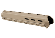 "This is a genuine Magpul MOE Hand Guard for AR-15 platforms, the color is flat dark earth (FDE). This hand guard will fit rifles that measure 11-1/2"" from the Delta Ring Assembly to the Hand Guard Cap (round or triangular)."