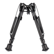 This is a Winchester made Bipod. It features Harris-style twist legs that can be adjusted from 7.5 inches up to 11.75 inches.