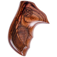 This is a pair of Taurus grips for the Public Defender revolver. Made from walnut these grips feature the Taurus logo.