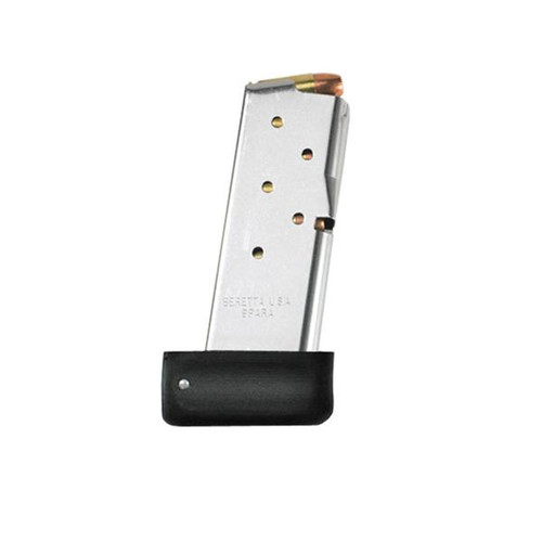 This is an extended 8 round factory Beretta magazine for the model Nano 9mm.