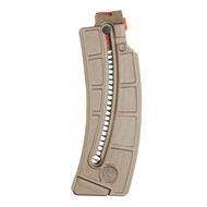 This is a factory  Smith & Wesson magazine for the 15-22 .22lr, 25 round capacity, Flat Dark Earth (FDE).
