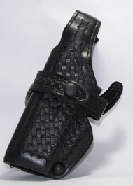 "This holster fits:Glock 4.5"" BBL: 17, 22, 4"" BBL 19, 23"