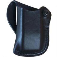 This magazine holster fits: Glock: 17, 19, 22, 23, 36, 37, 38; HK: USP9/40, USP CPT 9/40, P2000; PARA: P13, P14; SIG: Mauser M2