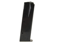 This is a 17 round magazine for the Ruger 9mm, made by Mec-Gar.