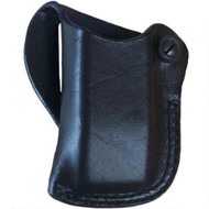 This magazine holster fits: Walther: PPK, PP; Astra: Constable; Colt: GOVT 380; Beretta: 85; HK: HK4; Sig: P230; AMT: BKUP 380