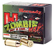 Hornady ZombieMax .45 acp 185 Grain Z-MAX, has 20 rounds per box, manufactured by Hornady.
