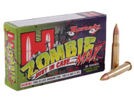 Hornady ZombieMax .30-30 win 160 Grain Z-MAX, has 20 rounds per box, manufactured by Hornady.
