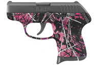 This is a Ruger LCP .380 acp, with the Muddy Girl camo pattern.