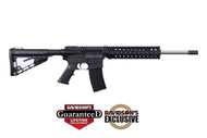 This is a Diamondback AR-15 rifle called the DB15 chambered in 5.56 nato.