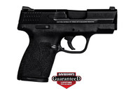 This is a Smith & Wesson Shield .45 acp. Great concealed carry gun weighing in at 20.5 ounces. Comes with (1)-6 round magazine, and (1)-7 round magazine. This model has no thumb safety.