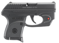 This is a Ruger LCP .380 acp, with a Viridian laser.