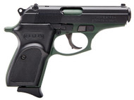 This is a Bersa Thunder .380 acp, with a cerakote OD Green finish. Comes with (1) 8 round magazine.