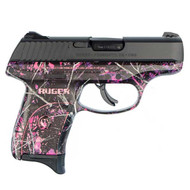 This is a Ruger LC9s 9mm, with the Muddy Girl Camo Finish.