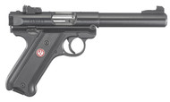 "This is a Ruger Mark IV ""Target"" .22 lr. Model # 40101"