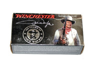 This is a new box of John Wayne 100 Year Commemorative Winchester ammunition in the .44-40 win caliber, 200 grain SP and come 50 rounds per box.
